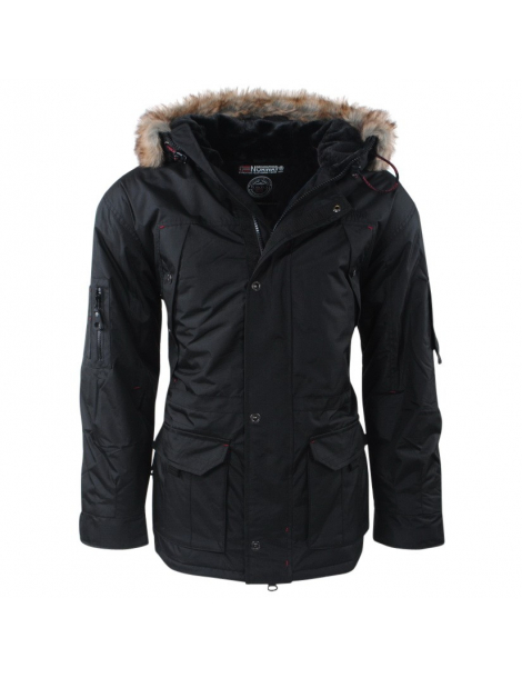 CHAQUETON ABIOSAURE HOMBRE NEGRO GEOGRAPHICAL NORWAY 2018