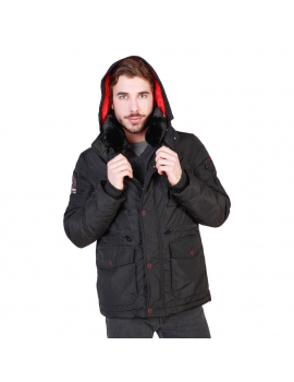 CHAQUETON CANDIDAT NEGRO  GEOGRAPHICAL NORWAY 2018