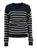 SUDADERA FIGUE LADY NAVY-OFF WHITE  COLECCION GEOGRAPHICAL NORWAY 2018