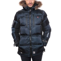 DANONE CHAQUETON HOMBRE GEOGRAPHICAL NORWAY 2016 NEGRO