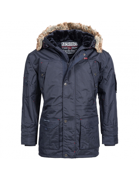 CHAQUETON ABIOSAURE HOMBRE AZUL OSCURO GEOGRAPHICAL NORWAY 2018