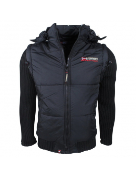 CHALECO CRUMBERRY MEN NEGRO COLECCION GEOGRAPHICAL NORWAY 2018