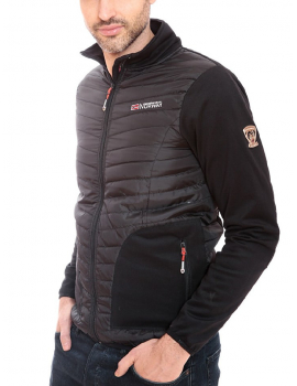 SOFTSHELL TIRION MEN NEGRO  COLECCION GEOGRAPHICAL NORWAY 2018