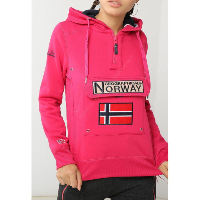 nueva estilos b5c92 dc8da GYMCLASS LADY MUJER GEOGRAPHICAL NORWAY SUDADERA NUEVA COLECCION