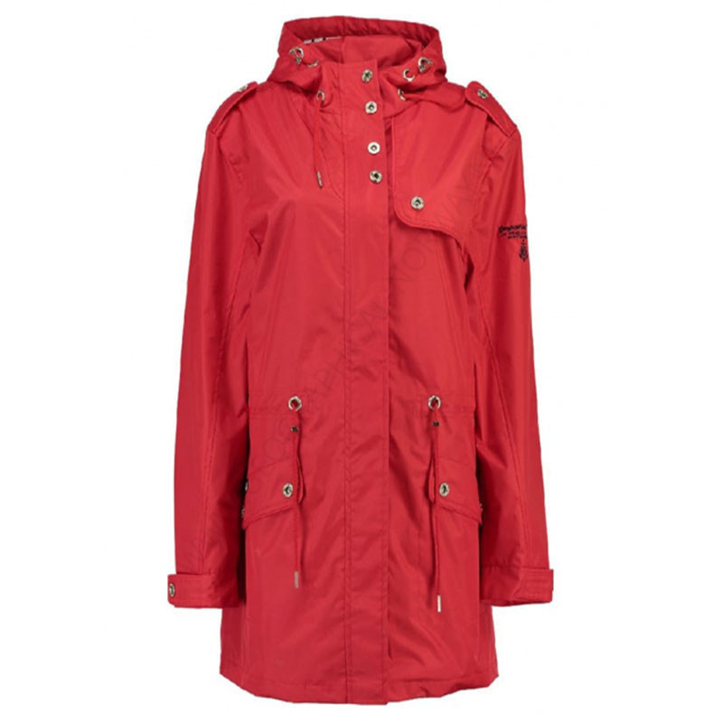 bastante agradable dff21 f70cc PARKA ALICA MUJER GEOGRAPHICAL NORWAY ROJO
