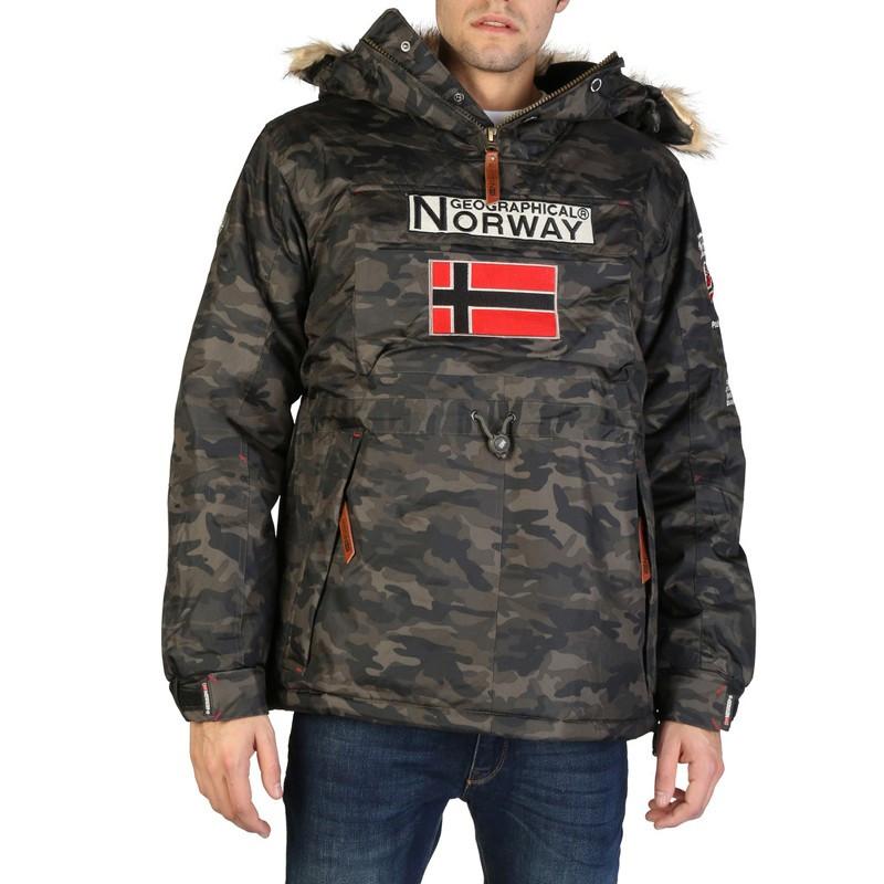 materiales superiores famosa marca de diseñador tecnologías sofisticadas CANGURO CAMUFLAJE HOMBRE NUEVA COLECCIÓN 2019 GEOGRAPHICAL NORWAY
